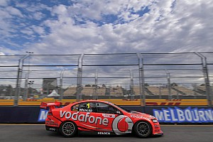 Supercars TeamVodafone Albert park race 1 report