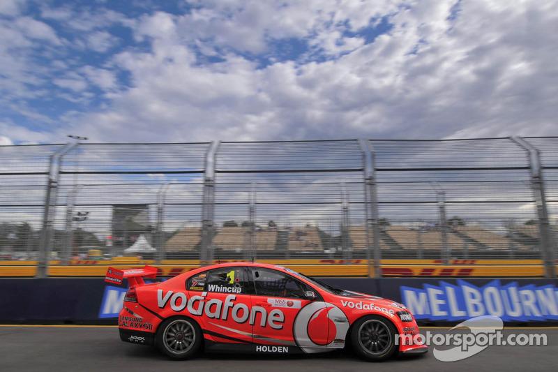 TeamVodafone Albert park race 1 report