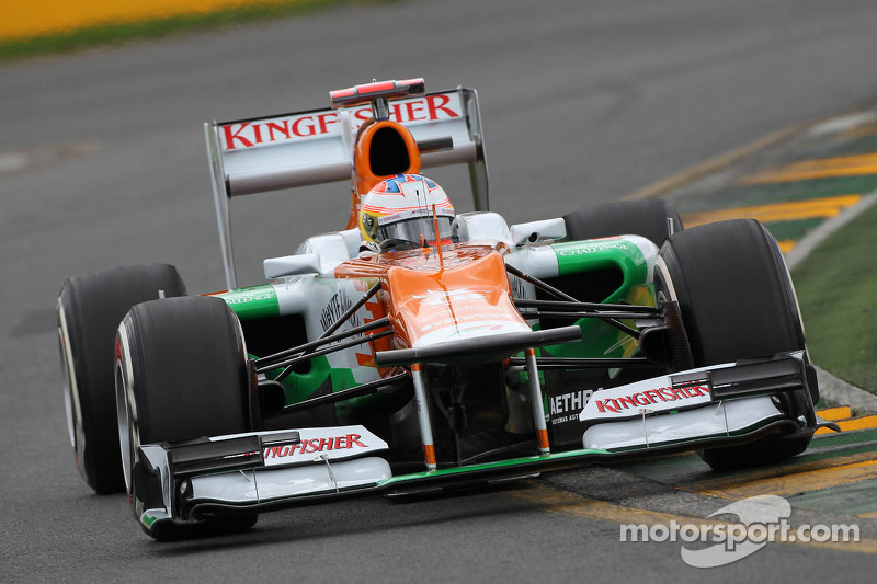 Force India Australian GP - Melbourne qualifying report