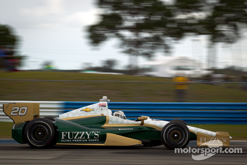 Team Chevy St. Pete Friday report