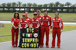 Formula 1 Ferrari Malaysian GP - Sepang Friday report