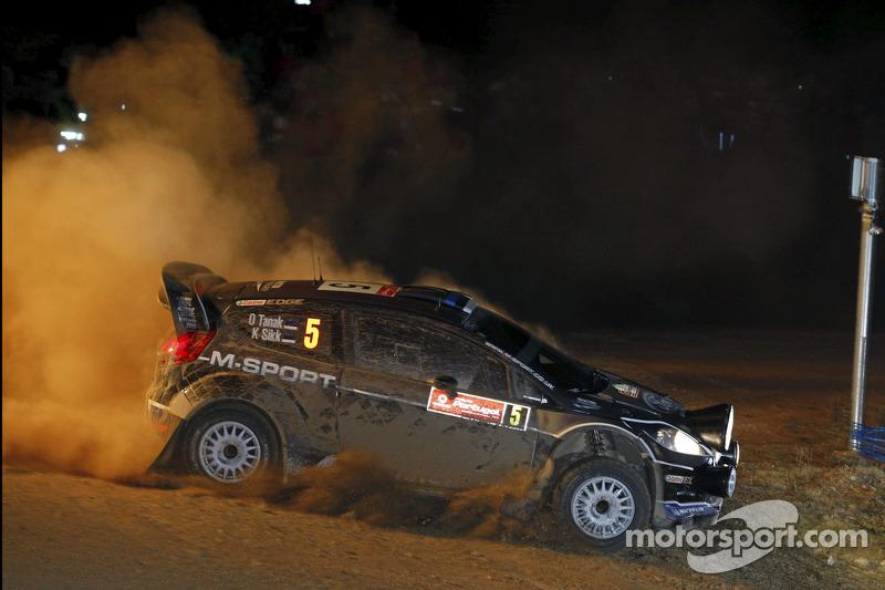 M-Sport Rally de Portugal leg 1 summary