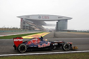 Formula 1 Toro Rosso Chinese GP - Shanghai Friday report