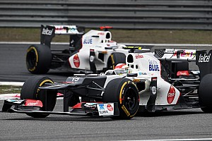 Formula 1 Sauber Chinese GP - Shanghai race report