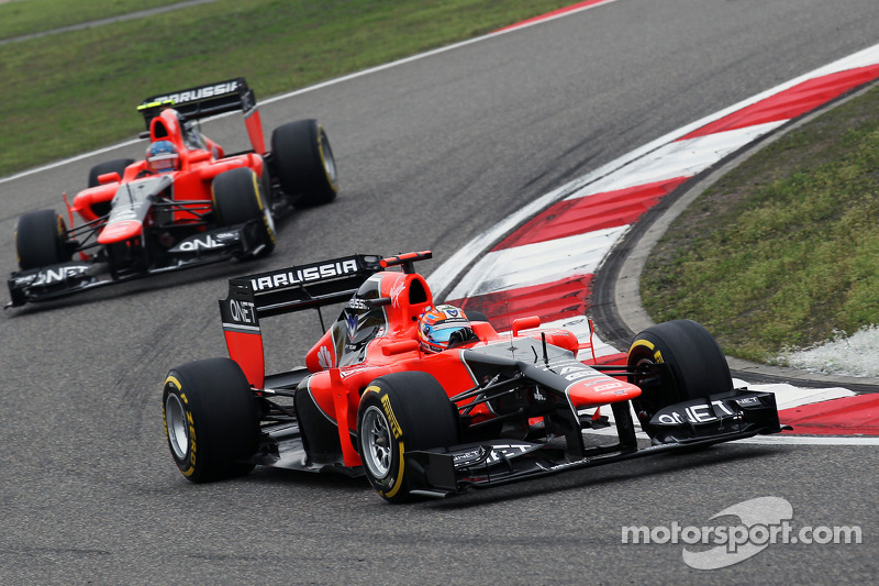 Marussia Chinese GP - Shanghai race report