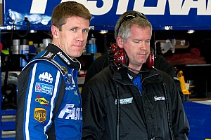 NASCAR Cup Edwards, Ford drivers talk about Richmond qualifying