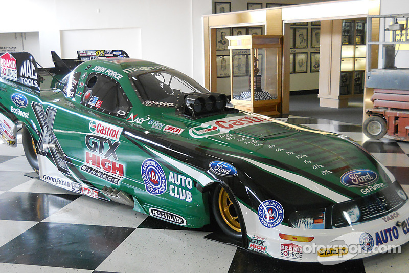 John Force to enter Talladega Hall of Fame