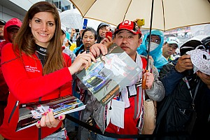 Super GT Race report Super GT Fuji: a difficult second race for Cyndie Allemann, but full of learning experiences