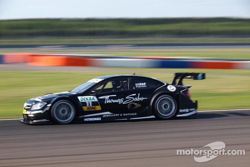 Mercedes Lausitzring race report
