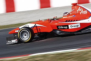 GP3 Evans storms to victory in Barcelona