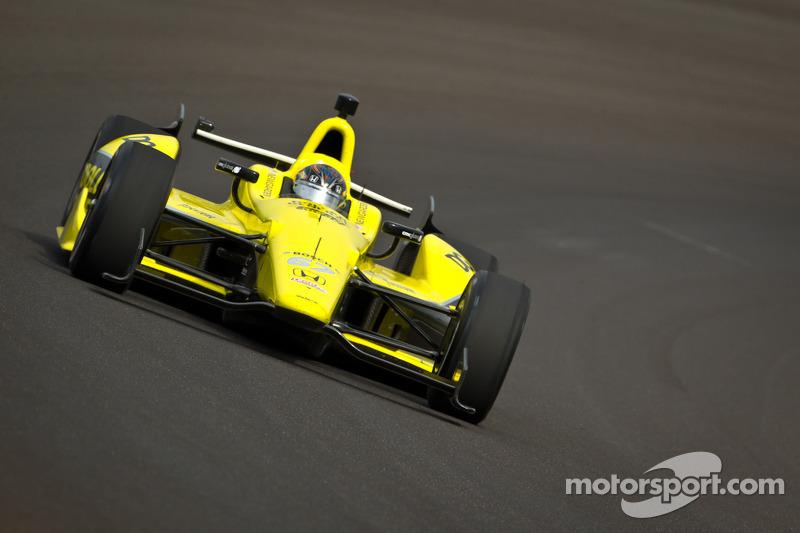 Sarah Fisher Hartman Racing Indy 500 practice day 1 report
