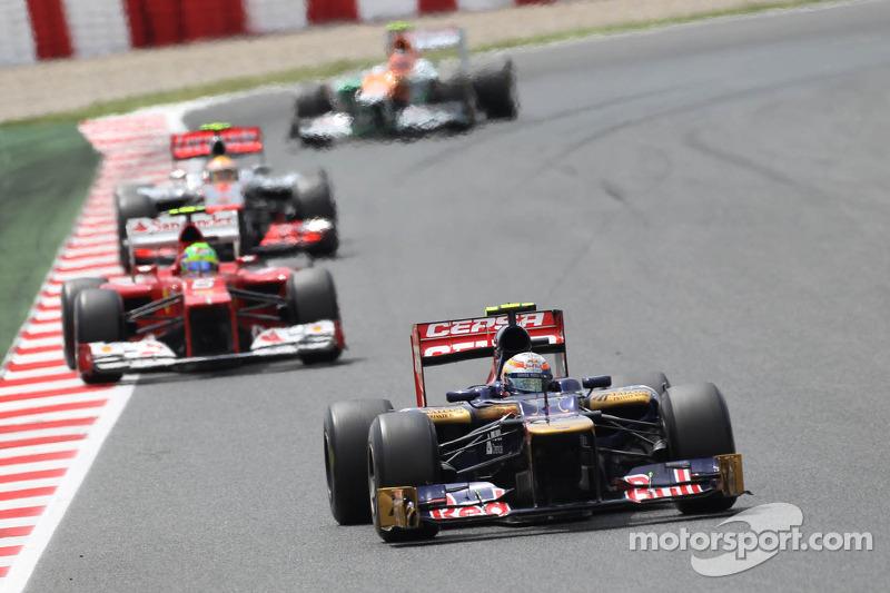 Toro Rosso Spanish GP - Catalunya race report