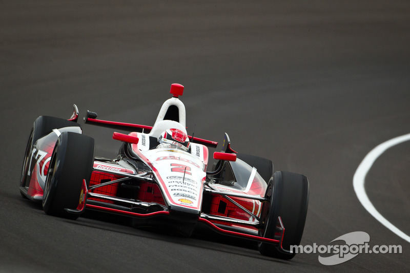 Briscoe snags his maiden Indianapolis 500 pole at the Brickyard