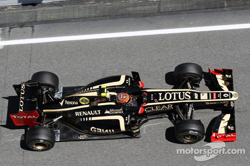 Lotus Spanish GP - Catalunya qualifying report