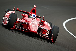 IndyCar Ganassi boys head Carb Day speed charts at Indy