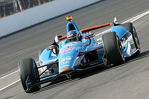 IndyCar Sarah Fisher Hartman Racing's Brad Larsen wins Clint Brawner Award