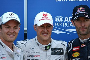 Formula 1 Penalty takes shine off Schu's comeback pole