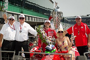 IndyCar Franchitti leaves Indy with $2.4 million after 500 win