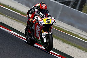 MotoGP Bradl finishes eight after wrong tyre choice in Catalunya race