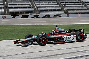 IndyCar Panther Racing overcomes, comes back for top-5 finish at Texas