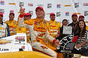 IndyCar Ryan Hunter-Reay excels at the Milwaukee Mile