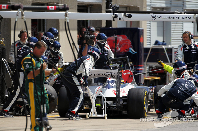 Williams looking to keep momentum in Valencia