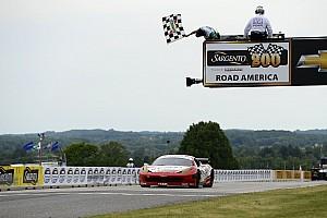 Grand-Am Race report At Road America Jeff Segal wins 3rd race of season