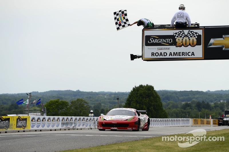 At Road America Jeff Segal wins 3rd race of season