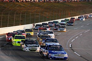 NASCAR Truck Race report James Buescher scores decisive win at Kentucky