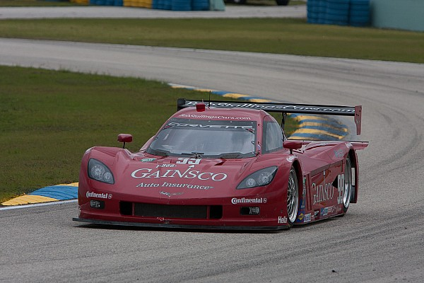 Gurney-driven Corvette DP posts fast lap at Indy test