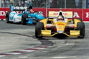 IndyCar Race report Hunter-Reay grabs 2012 points lead with win in Toronto