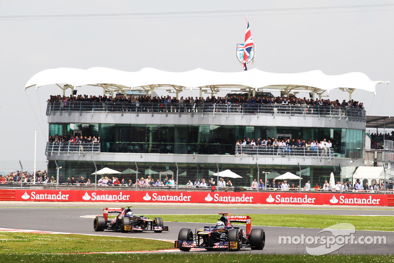 Ricciardo and Vergne leave Siverstone with positive results
