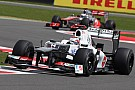 Tough weekend at the British Grand Prix for the Sauber team