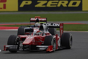 GP2 Race report Onidi recovers to 8th place in race 2 at Silverstone