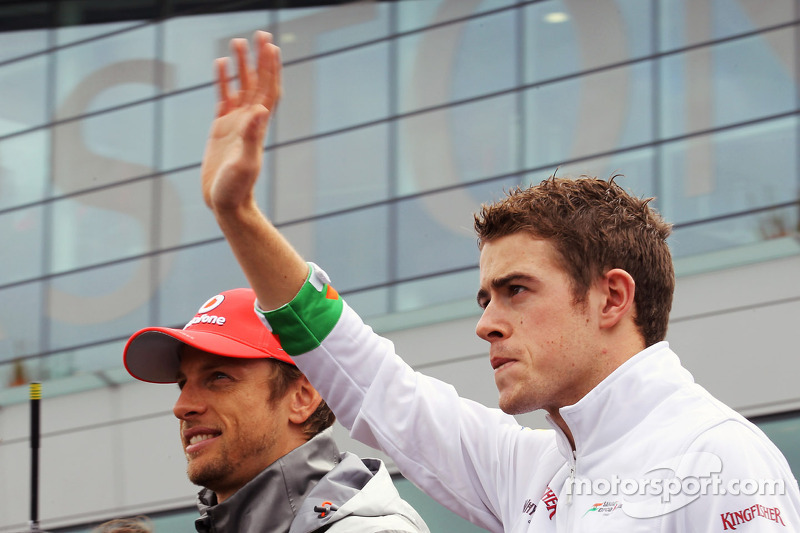 Button linked with new management for di Resta