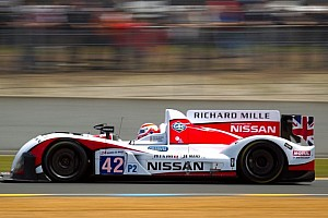 European Le Mans Practice report Low grid count doesn't deter competition at Donington