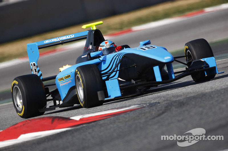 Slow tire penalty deprives Ocean Racing Technology of a GP3 podium
