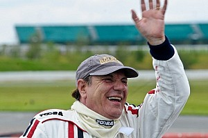 Vintage Special feature Brian Johnson of AC/DC Gung-Ho racing driver