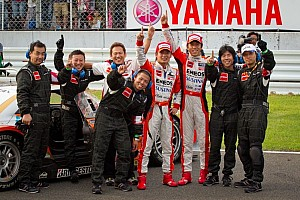 Super GT Race report Ito and Oshima dominate Sugo GT 300km for the victory