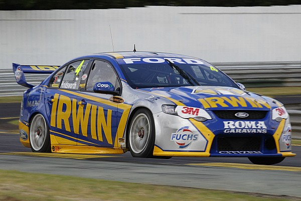 V8S Lee Holdsworth grabs top three in Friday pratice at Queensland Raceway