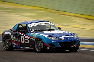 SCCA Qualifying report Dean sweeps Playboy MX-5 Cup weekend at CTMP