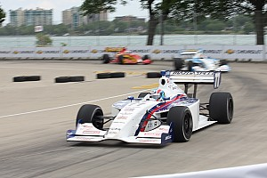 Indy Lights Race report Tristan Vautier rolls from pole to win at Trois-Rivieres