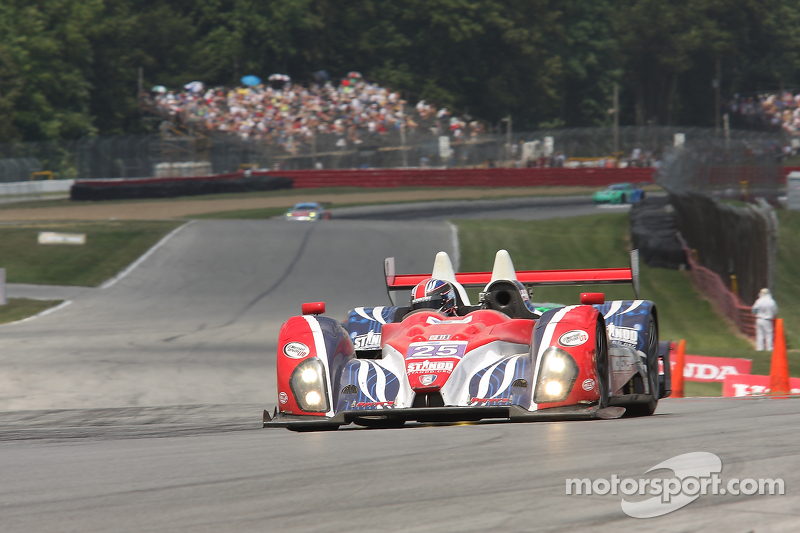 A long day for Duncan Ende at the Mid-Ohio Sports Car Course