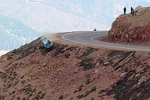 Hillclimb Special feature Jeremy Foley's nasty crash at Pikes Peak International Hill Climb 2012 - Video