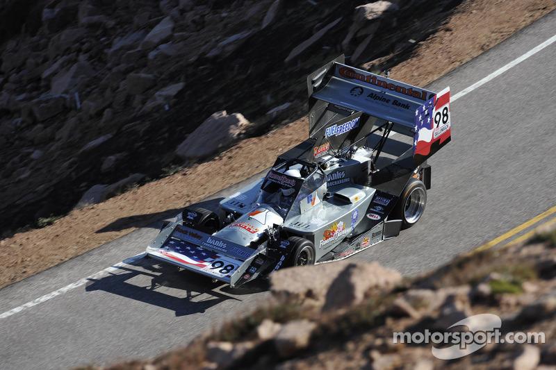 Paul Dallenbach okay following crash at Pikes Peak Hillclimb