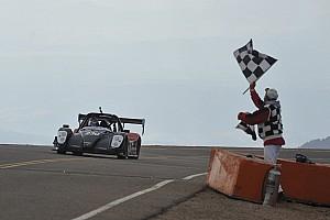 Hillclimb Race report Yokohama's Nutahara wins Pikes Peak EV class with new record