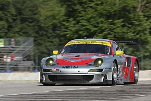 ALMS Practice report Luhr and Bergmeister fastest in Road America practice one