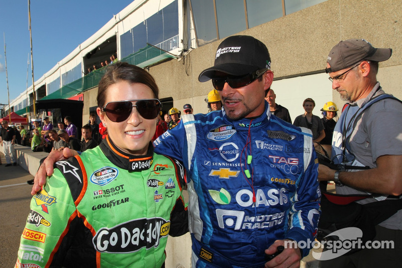 Tagliani takes Montreal pole with limited Nationwide experience