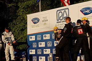 ALMS Race report Michelin P1 win streak ends at five at Road America