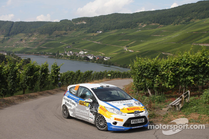 Dramatic end in Germany as Evans tames the Tarmac to take three in a row